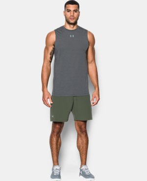 New Arrival Men's HeatGear® CoolSwitch Twist Fitted Sleeveless  1 Color $34.99