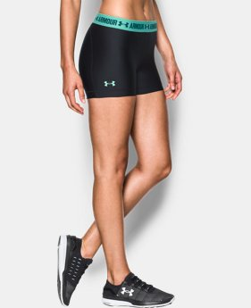Women's UA HeatGear® Armour Shorty LIMITED TIME: FREE U.S. SHIPPING 4 Colors $18.99
