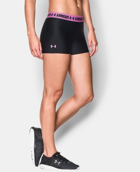 Women's UA HeatGear® Armour Shorty  2 Colors $18.99
