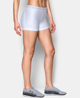 Women's UA HeatGear® Armour Shorty  2 Colors $18.74 to $18.99