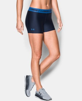 Women's UA HeatGear® Armour Shorty  2 Colors $14.24 to $18.99
