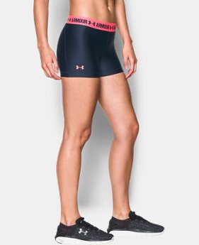 Best Seller Women's UA HeatGear® Armour Shorty LIMITED TIME: FREE SHIPPING 13 Colors $24.99