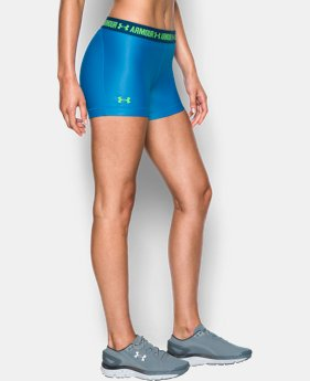 Best Seller Women's UA HeatGear® Armour Shorty LIMITED TIME: FREE SHIPPING 2 Colors $24.99