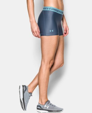 Women's UA HeatGear® Armour Shorty LIMITED TIME: FREE U.S. SHIPPING 1 Color $18.99