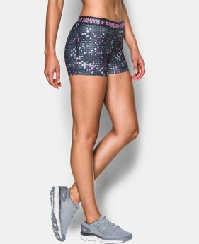 Best Seller Women's UA HeatGear® Armour Printed Shorty  2 Colors $29.99