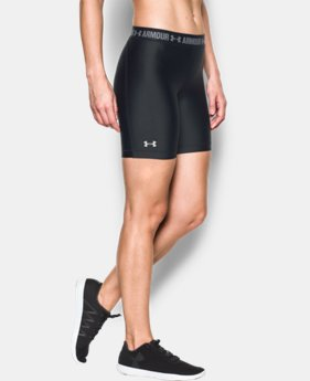 New Arrival  Women's UA HeatGear® Armour Long Short  1 Color $34.99
