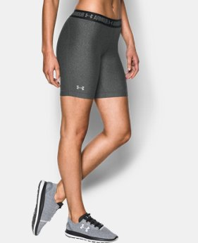 Women's UA HeatGear® Armour Long Shorts  1 Color $22.49