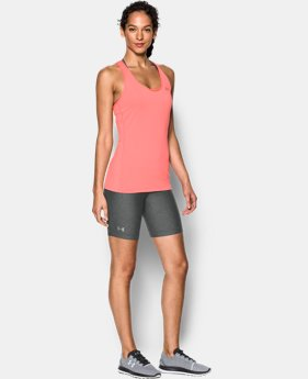 Women's UA HeatGear® Armour Long Shorts  1 Color $34.99