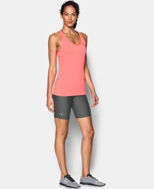 Women's UA HeatGear® Armour Long Short LIMITED TIME: FREE SHIPPING 1 Color $34.99