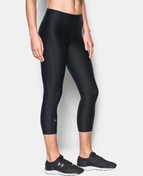 New Arrival  Women's UA HeatGear® Armour Capri LIMITED TIME: FREE SHIPPING 1 Color $39.99