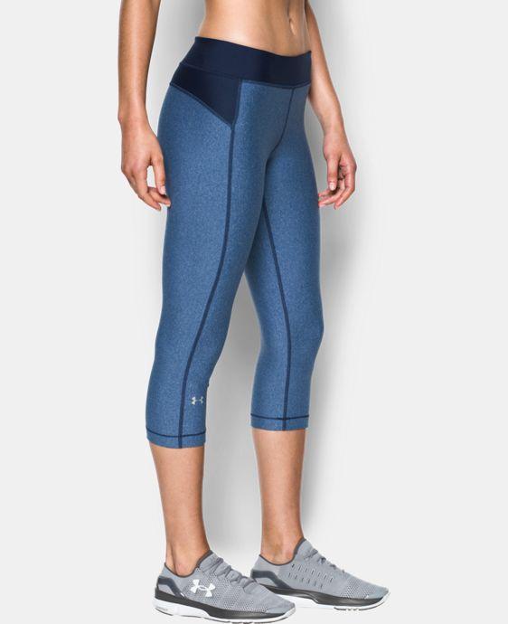 Women's UA HeatGear® Armour Capri  1 Color $26.99