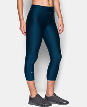 Women's UA HeatGear® Armour Capris  1 Color $29.99 to $39.99