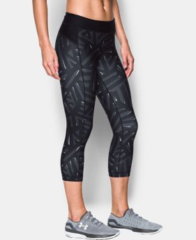 Women's UA HeatGear® Armour Printed Capris  1 Color $21.99 to $29.99