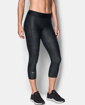 Best Seller Women's UA HeatGear® Armour Printed Capris  2 Colors $39.99