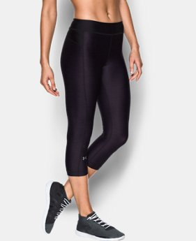 Women's UA HeatGear® Armour Printed Capris  1 Color $22.49
