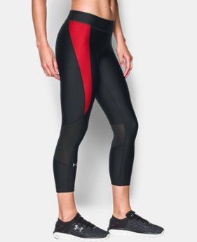 Best Seller Women's UA HeatGear® Armour Crop LIMITED TIME: FREE U.S. SHIPPING 3 Colors $44.99