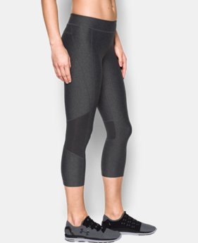Women's UA HeatGear® Armour Crop  6 Colors $44.99