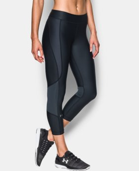 Women's UA HeatGear® Armour Printed Crop  1 Color $59.99