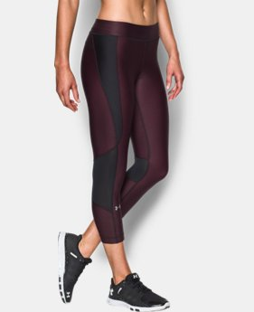 Women's UA HeatGear® Armour Printed Crop  1 Color $49.99