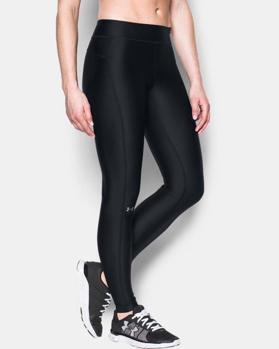 Women's UA HeatGear® Armour Leggings, Black, pdpMainDesktop image number 0