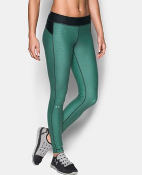 Women's UA HeatGear® Armour Printed Leggings  1 Color $34.99