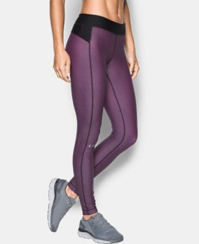 Best Seller Women's UA HeatGear® Armour Printed Legging  4 Colors $49.99