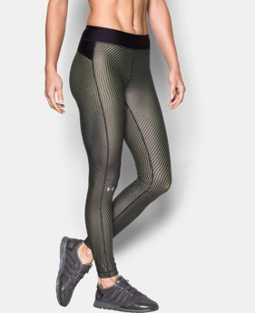Best Seller Women's UA HeatGear® Armour Printed Legging   $49.99