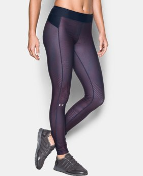 Women's UA HeatGear® Armour Printed Leggings  2 Colors $27.99 to $37.99