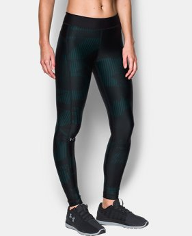 Women's UA HeatGear® Armour Printed Leggings  1  Color Available $37.49