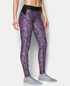 Best Seller Women's UA HeatGear® Armour Printed Leggings  3 Colors $27.99 to $49.99