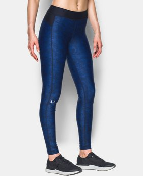 Best Seller Women's UA HeatGear® Armour Printed Leggings  4 Colors $49.99