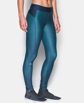 Women's UA HeatGear® Armour Printed Leggings  1 Color $20.99