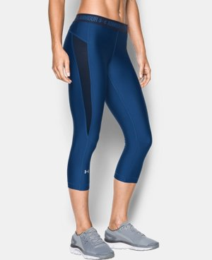 New Arrival  Women's UA CoolSwitch Capri LIMITED TIME: FREE SHIPPING 1 Color $49.99