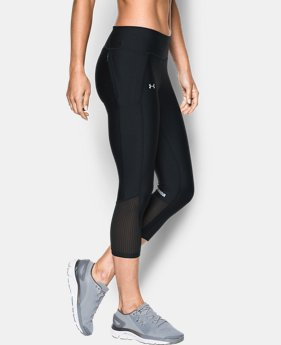Best Seller Women's UA Fly-By Capris  1  Color Available $34.99