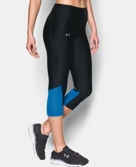 Best Seller Women's UA Fly-By Capris  2 Colors $34.99 to $37.99