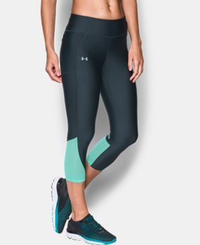 Best Seller Women's UA Fly-By Capris  1  Color Available $49.99