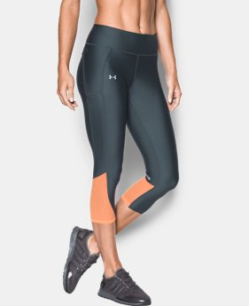 Women's UA Fly-By Capri LIMITED TIME: FREE U.S. SHIPPING 1 Color $28.49 to $37.99
