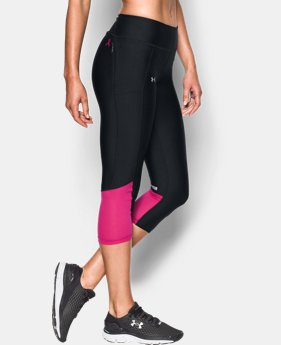 Women's UA Fly-By Capris  4 Colors $59.99