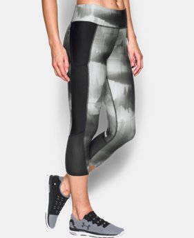 Women's UA Fly-By Printed Capris  4 Colors $30.99 to $41.99