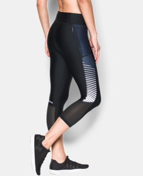 Women's UA Fly-By Printed Capri