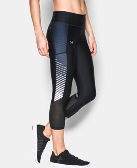 Women's UA Fly-By Printed Capri LIMITED TIME: FREE U.S. SHIPPING  $31.49 to $41.99