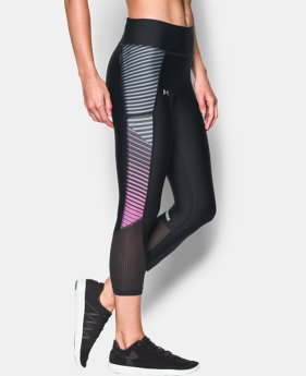 Best Seller Women's UA Fly-By Printed Capri   $54.99