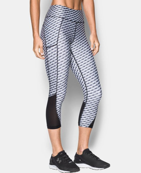 New Arrival  Women's UA Fly-By Printed Capri   $64.99