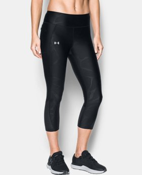 Best Seller Women's UA Fly-By Printed Capris  6 Colors $54.99