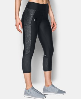Women's UA Fly-By Printed Capris  4 Colors $64.99