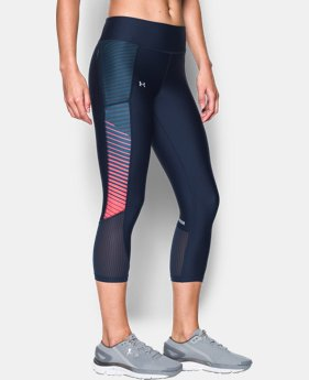 Women's UA Fly-By Printed Capri  2 Colors $54.99