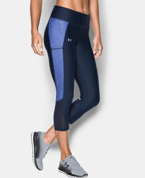 Best Seller Women's UA Fly-By Printed Capri  3 Colors $54.99
