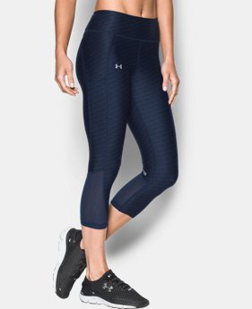 Women's UA Fly-By Printed Capri LIMITED TIME: FREE U.S. SHIPPING 1 Color $31.49 to $41.99
