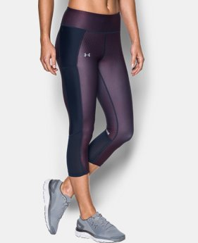 Women's UA Fly-By Printed Capris  1 Color $32.99 to $41.99
