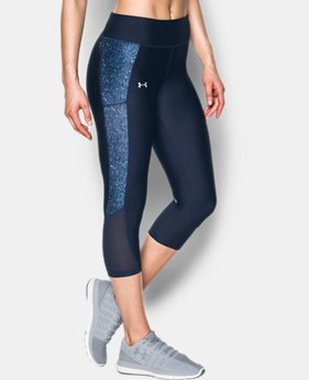 Women's UA Fly-By Printed Capris  1 Color $48.74